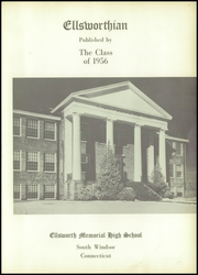 Page 5, 1956 Edition, Ellsworth High School - Yearbook (South Windsor, CT) online yearbook collection