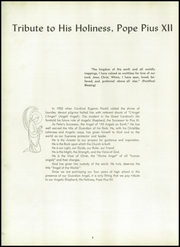 Page 8, 1958 Edition, St Anthony High School - Shield Yearbook (Bristol, CT) online yearbook collection