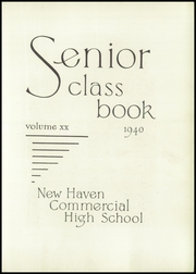 Page 7, 1940 Edition, Commercial High School - Yearbook (New Haven, CT) online yearbook collection