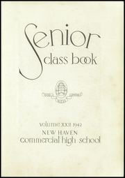 Page 7, 1942 Edition, Commercial High School - Yearbook (New Haven, CT) online yearbook collection