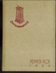 1939 Edition, Walker High School - Pepper Pot Yearbook (Simsbury, CT)
