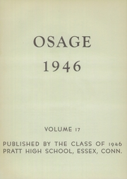 Page 7, 1946 Edition, Pratt High School - Osage Yearbook (Essex, CT) online yearbook collection