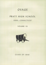 Page 5, 1949 Edition, Pratt High School - Osage Yearbook (Essex, CT) online yearbook collection