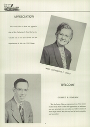 Page 8, 1949 Edition, Pratt High School - Osage Yearbook (Essex, CT) online yearbook collection