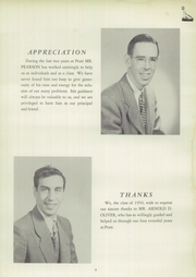Page 7, 1950 Edition, Pratt High School - Osage Yearbook (Essex, CT) online yearbook collection