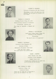 Page 8, 1950 Edition, Pratt High School - Osage Yearbook (Essex, CT) online yearbook collection