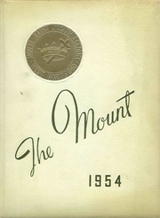 1954 Edition, Mount St Joseph Academy - Mount Yearbook (West Hartford, CT)