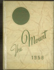 1958 Edition, Mount St Joseph Academy - Mount Yearbook (West Hartford, CT)