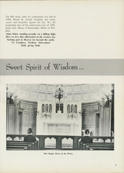 Page 11, 1958 Edition, Mount St Joseph Academy - Mount Yearbook (West Hartford, CT) online yearbook collection