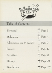 Page 6, 1958 Edition, Mount St Joseph Academy - Mount Yearbook (West Hartford, CT) online yearbook collection