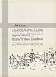 Page 7, 1958 Edition, Mount St Joseph Academy - Mount Yearbook (West Hartford, CT) online yearbook collection