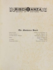 Page 11, 1916 Edition, Hotchkiss School - Mischianza Yearbook (Lakeville, CT) online yearbook collection