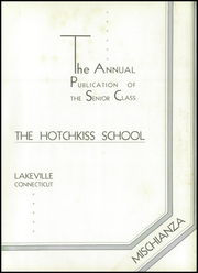 Page 9, 1937 Edition, Hotchkiss School - Mischianza Yearbook (Lakeville, CT) online yearbook collection