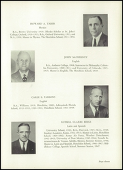 Page 15, 1950 Edition, Hotchkiss School - Mischianza Yearbook (Lakeville, CT) online yearbook collection