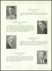Page 16, 1950 Edition, Hotchkiss School - Mischianza Yearbook (Lakeville, CT) online yearbook collection