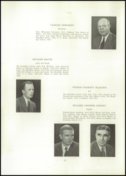 Page 16, 1953 Edition, Hotchkiss School - Mischianza Yearbook (Lakeville, CT) online yearbook collection