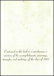 Page 5, 1953 Edition, Hotchkiss School - Mischianza Yearbook (Lakeville, CT) online yearbook collection