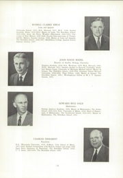 Page 15, 1955 Edition, Hotchkiss School - Mischianza Yearbook (Lakeville, CT) online yearbook collection