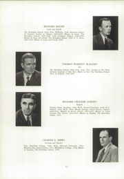 Page 16, 1955 Edition, Hotchkiss School - Mischianza Yearbook (Lakeville, CT) online yearbook collection