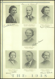 Page 10, 1938 Edition, Middletown High School - Orange and Black Yearbook (Middletown, CT) online yearbook collection