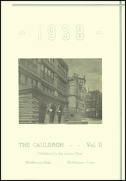 Page 3, 1938 Edition, Middletown High School - Orange and Black Yearbook (Middletown, CT) online yearbook collection