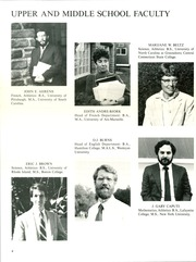 Page 12, 1986 Edition, Green Farms Academy - Excalibur Yearbook (Westport, CT) online yearbook collection
