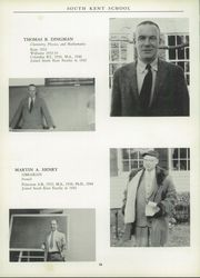 Page 14, 1958 Edition, South Kent High School - Yearbook (South Kent, CT) online yearbook collection