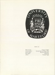 Page 5, 1961 Edition, University of Hartford - Yearbook (Hartford, CT) online yearbook collection