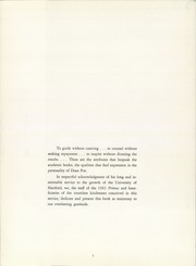 Page 7, 1961 Edition, University of Hartford - Yearbook (Hartford, CT) online yearbook collection