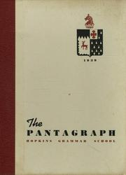 Page 1, 1939 Edition, Hopkins School - Per Annos Yearbook (New Haven, CT) online yearbook collection