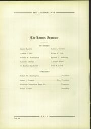 Page 10, 1932 Edition, Loomis Chaffee High School - Confluence Yearbook (Windsor, CT) online yearbook collection