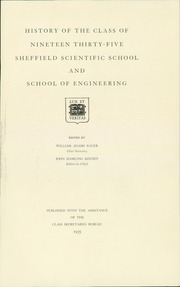 Page 11, 1935 Edition, Yale University - Sheffield Scientific School Yearbook (New Haven, CT) online yearbook collection