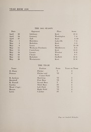Page 141, 1936 Edition, Kent School - Kent Yearbook (Kent, CT) online yearbook collection