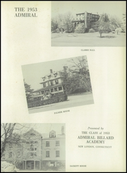 Page 7, 1953 Edition, Admiral Billard Academy - Admiral Yearbook (New London, CT) online yearbook collection