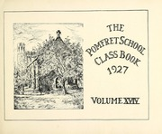 Page 7, 1927 Edition, Pomfret School - Griffin Yearbook (Pomfret, CT) online yearbook collection