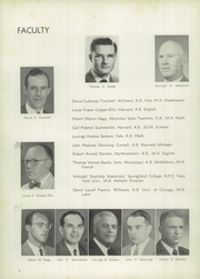 Page 10, 1952 Edition, Pomfret School - Griffin Yearbook (Pomfret, CT) online yearbook collection