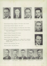 Page 11, 1952 Edition, Pomfret School - Griffin Yearbook (Pomfret, CT) online yearbook collection