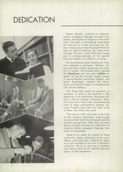 Page 8, 1952 Edition, Pomfret School - Griffin Yearbook (Pomfret, CT) online yearbook collection