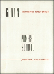 Page 7, 1953 Edition, Pomfret School - Griffin Yearbook (Pomfret, CT) online yearbook collection