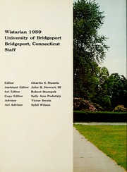 Page 6, 1959 Edition, University of Bridgeport - Wistarian Yearbook (Bridgeport, CT) online yearbook collection