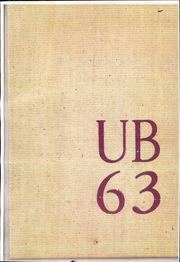 University of Bridgeport - Wistarian Yearbook (Bridgeport, CT) online yearbook collection, 1963 Edition, Page 1