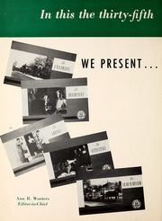Page 8, 1951 Edition, University of Connecticut - Nutmeg Yearbook (Storrs, CT) online yearbook collection