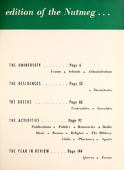 Page 9, 1951 Edition, University of Connecticut - Nutmeg Yearbook (Storrs, CT) online yearbook collection