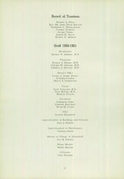 Page 16, 1951 Edition, Cheshire Academy - Rolling Stone Yearbook (Cheshire, CT) online yearbook collection