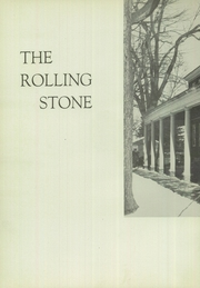 Page 6, 1951 Edition, Cheshire Academy - Rolling Stone Yearbook (Cheshire, CT) online yearbook collection
