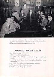 Page 14, 1957 Edition, Cheshire Academy - Rolling Stone Yearbook (Cheshire, CT) online yearbook collection