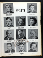 Page 13, 1950 Edition, Western Connecticut State University - Pahquioque Yearbook (Danbury, CT) online yearbook collection