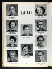 Page 14, 1950 Edition, Western Connecticut State University - Pahquioque Yearbook (Danbury, CT) online yearbook collection