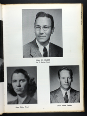 Page 9, 1950 Edition, Western Connecticut State University - Pahquioque Yearbook (Danbury, CT) online yearbook collection