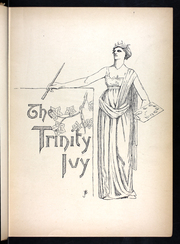 Page 5, 1890 Edition, Trinity College - Ivy Yearbook (Hartford, CT) online yearbook collection